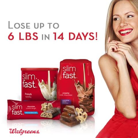 lose 6 pounds in 14 days with slimfast