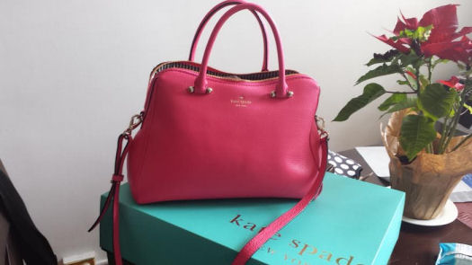 kate spade ny bag that I won