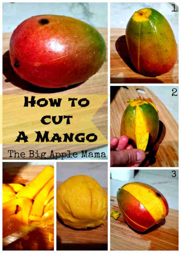 how to slice a mango