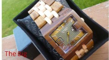 Stand apart from the crowd with Jord's Wood Watches!