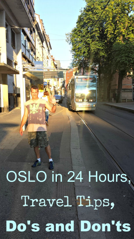 oslo in 24 hours, travel tips, do's and don'ts