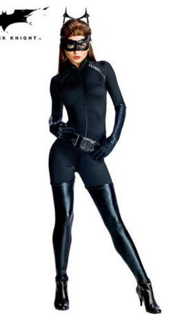 Batman the Dark Knight Rises Catwoman Women's Sexy Costume