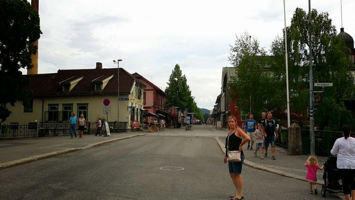 The town of Lillehammer