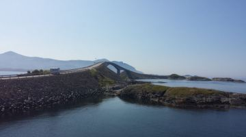 Driving Down the Atlantic Ocean Road to Alesund