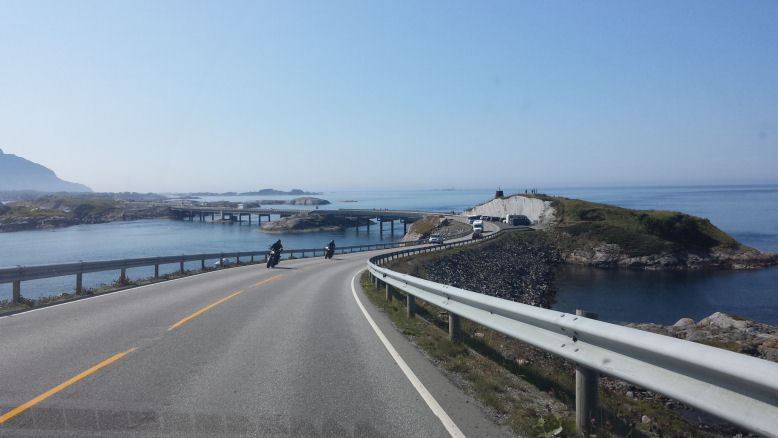 end of atlantic ocean road
