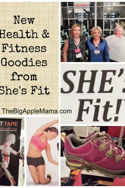 New Health & Fitness Products and goodies from She's Fit Event #ShesFit