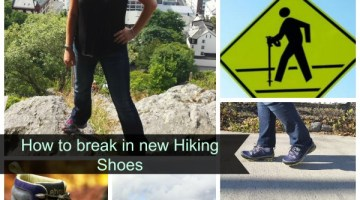 How to Break in New Hiking Shoes+Urban Hiking Tips