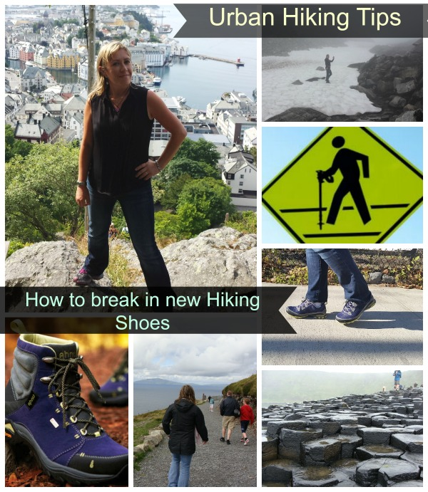 how to break in new hiking shoes