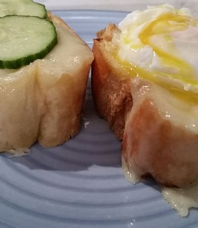 Easy Breakfast Idea Garlic French Bread Toast