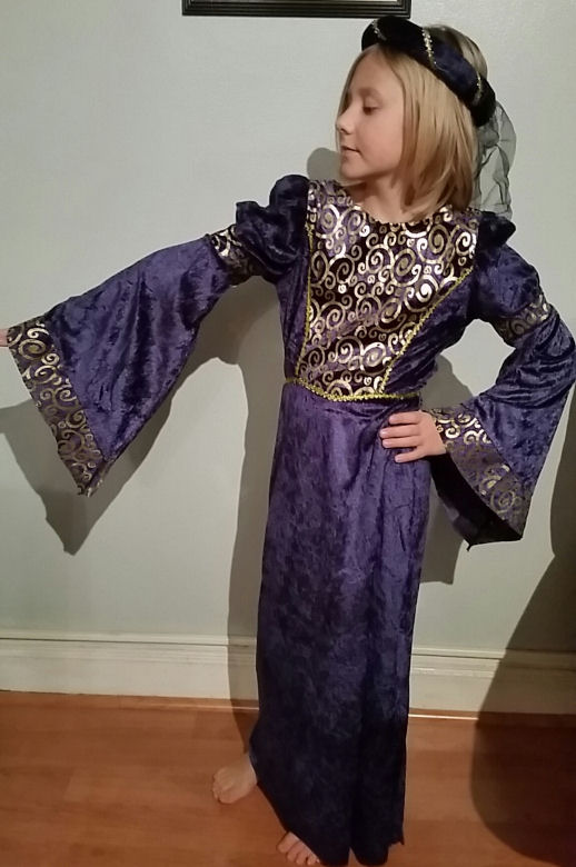 Renaissance costume for kids