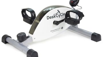How to keep yourself in shape while at your desk or when watching TV {DeskCycle Review}