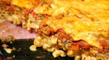"""Easy """"No Boil"""" Baked Macaroni and Cheese Casserole"""