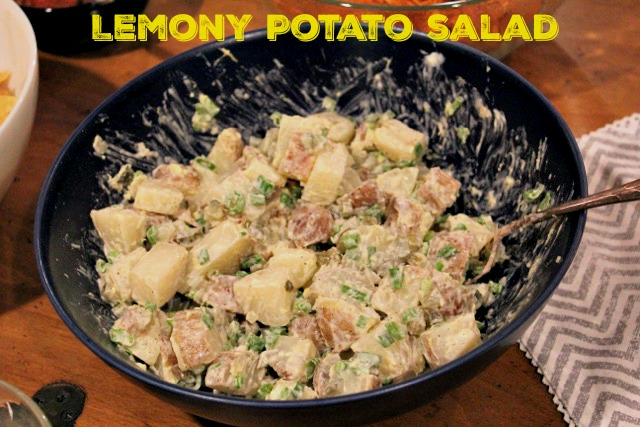 lemony potato salad