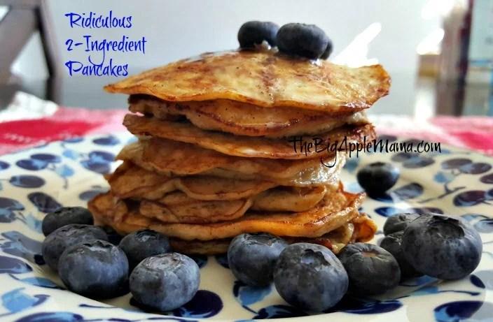 2-ingredient pancakes
