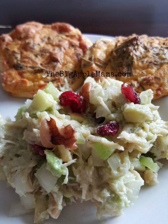 Cranberry Apple Avocado Chicken Salad