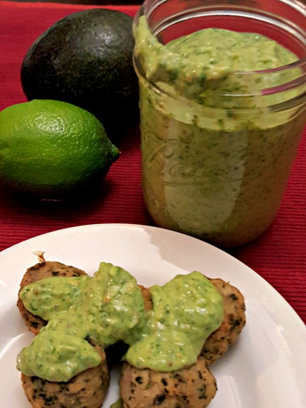 Super Power healthy green sauce + dip