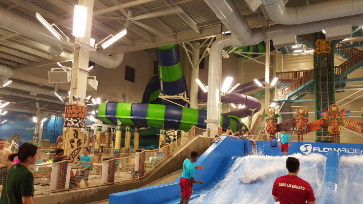 flowrider at kalahari