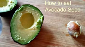 What to do with an Avocado Seed and How to eat it