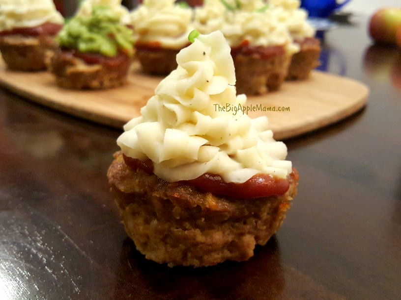 Meatloaf Cupcakes- for dinner or lunch! So easy to make and everyone loves them!
