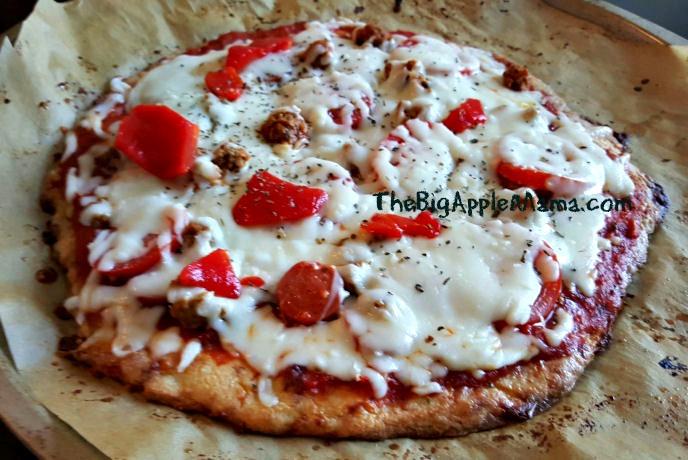 fathead pizza crust recipe, low-carb