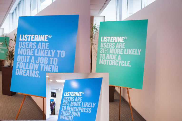 listerine bring out the bold campaign