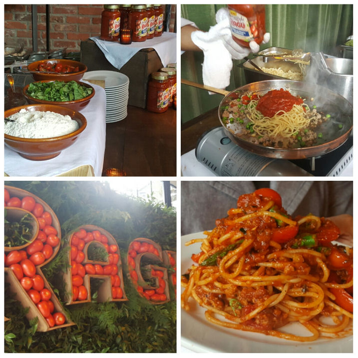 Ragu Homestyle live tasting event in new york city