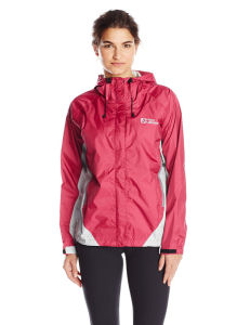 women rain protection jacket