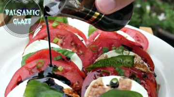 How to make a Home-made Balsamic Glaze or Balsamic reduction