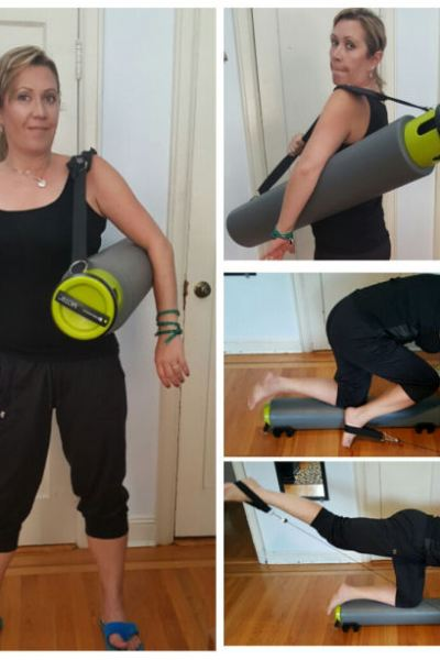 Complete Portable Home Gym in a Tube