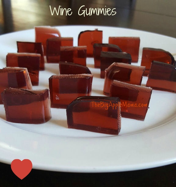 How to make a DIY Homemade Wine Gummies - Only 3 Ingredients