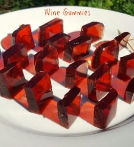 home made wine gummies