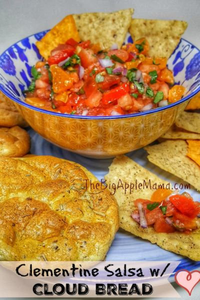 Mandarin Salsa + This year Bits and bites for the Big Game