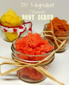 3 ingredient fantastic body scrub