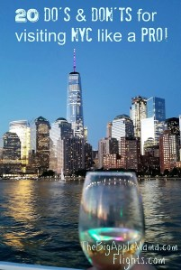 Dos and donts for visiting NYC