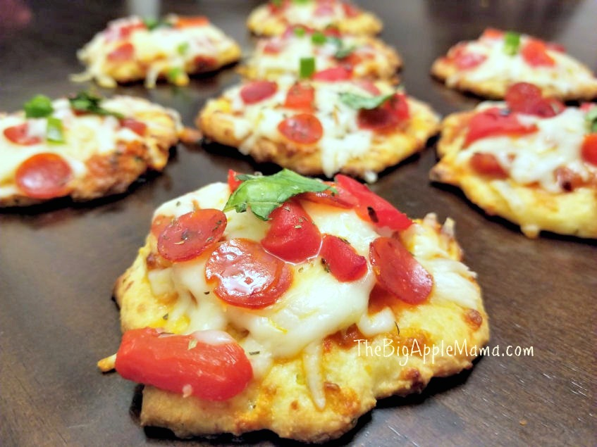 How to make Fat Heads Pizza Bites - The Best Low-Carb Thin Pizza Crust
