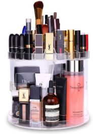 makeup and cosmetic organizer