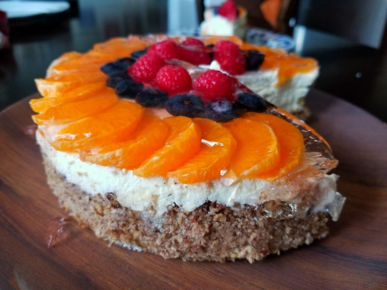 Clementine Cheesecake, low carb