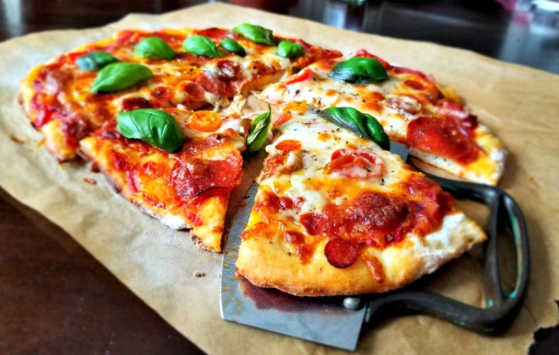 better than takeout 2 ingredient crispy pizza crust