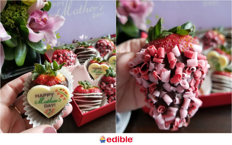 Edible Arrangements Mothers day chocolate dipped strawberries
