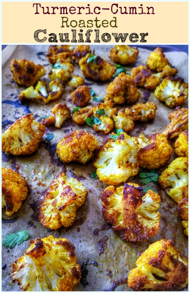 Turmeric-Cumin Roasted Cauliflower