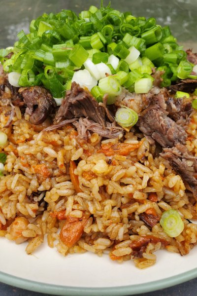 Instant Pot Plov (Rice Pilaf with meat) – Easy and Delicious