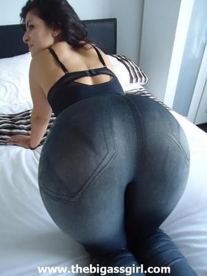 big ass in thongs