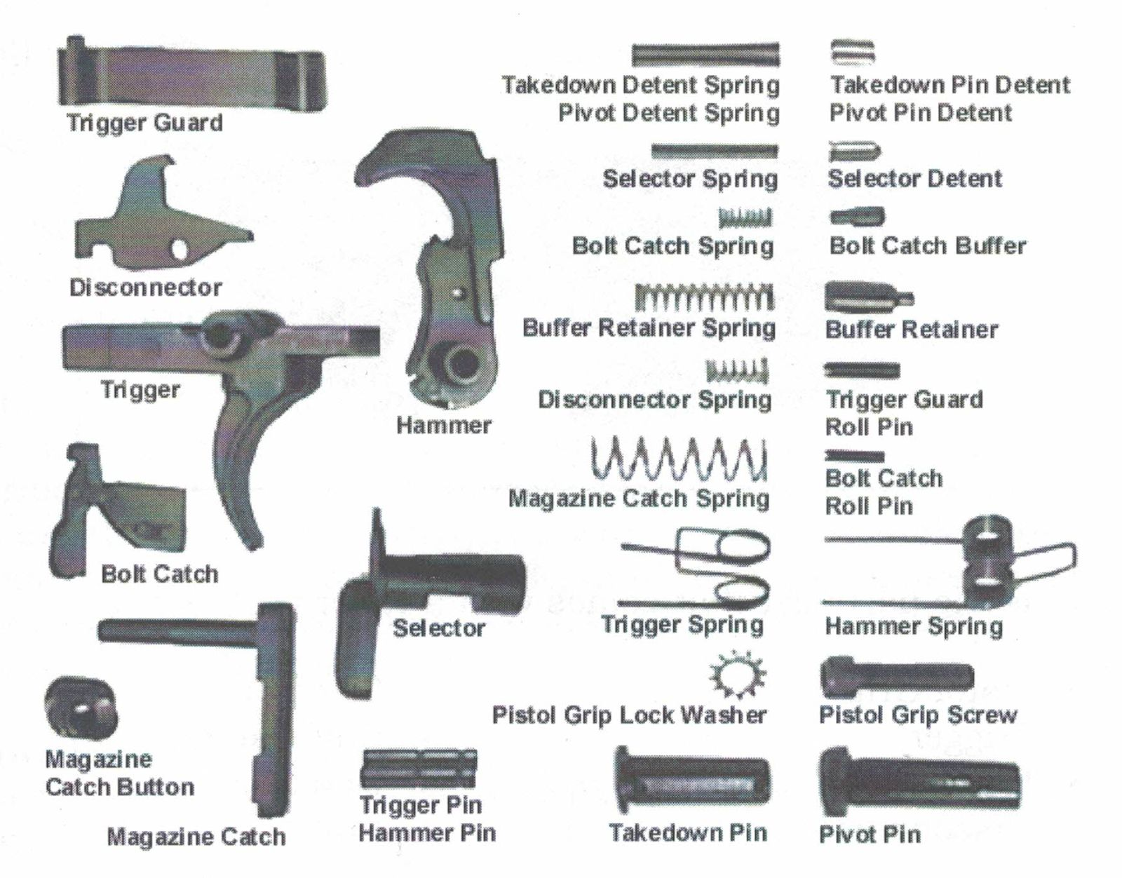 ar 15 lower diagram wiring for ignition coil receiver parts photos available and where page 1