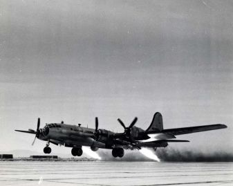 Experimental B-29 JATO. Never used in military operations.