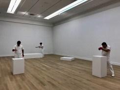 Gallery space in the original building.