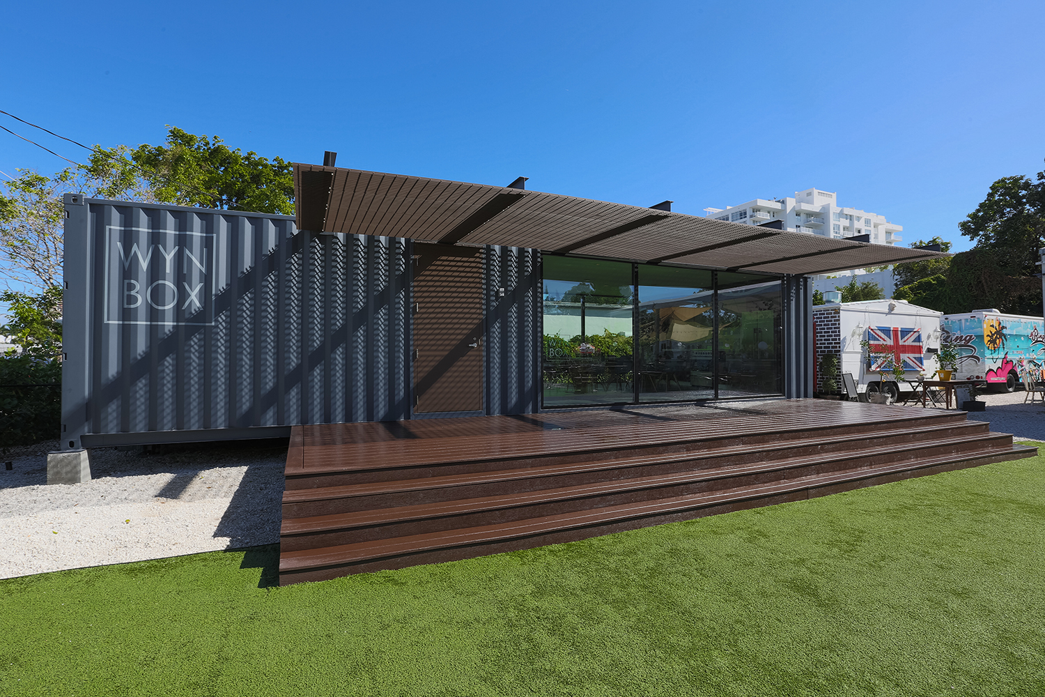 One of Miami's First Shipping Container Houses, Located in