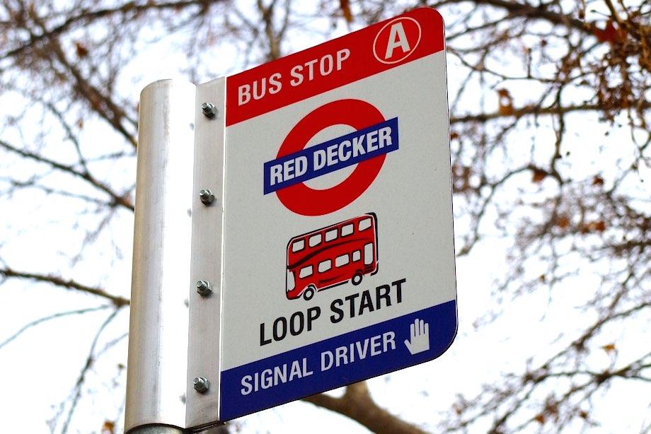 Hobart hop on hop off bus tour