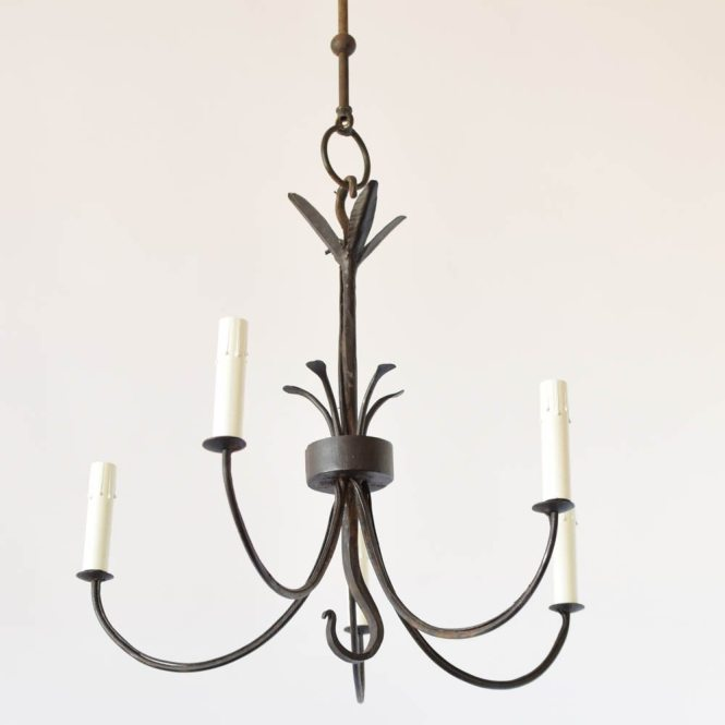 Hand Made Simple Iron Chandelier
