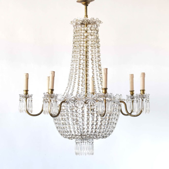 Antique Empire Chandelier