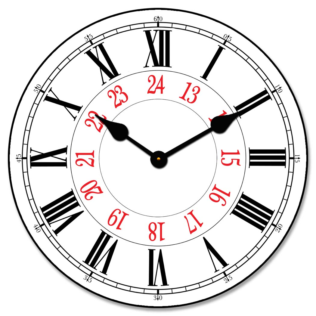 24 Hour Clock Collection
